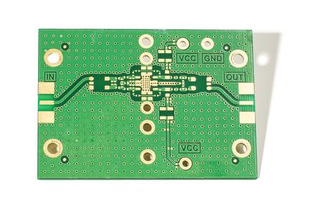34142347 - prototype printed circuit design isolated