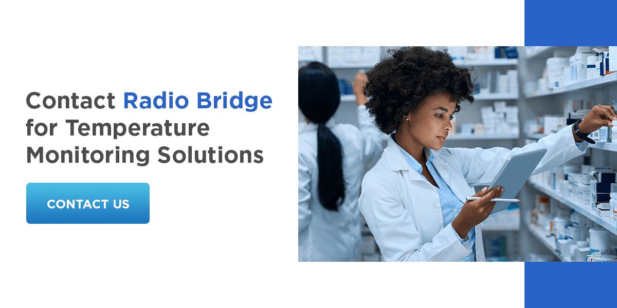 Contact Radio Bridge for Temperature Monitoring Solutions